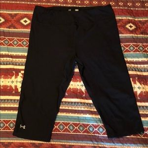 under armor compression tights worn 1 or 2 times